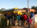 Caption: Children wait at school bus stop in Foley, Alabama., Credit: Javier Aparisi/Radio Bilingüe