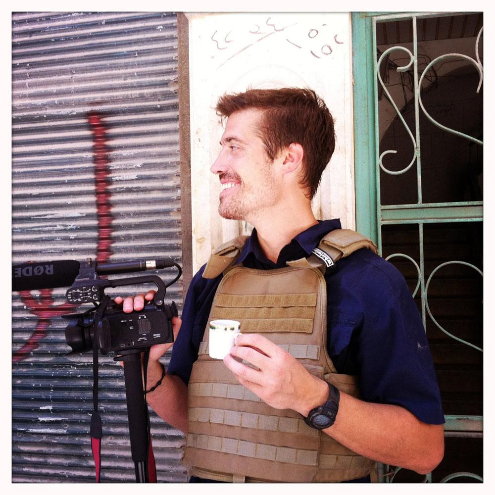 Caption: James Foley, Aleppo, Syria – 07/12, Credit: Nicole Tung