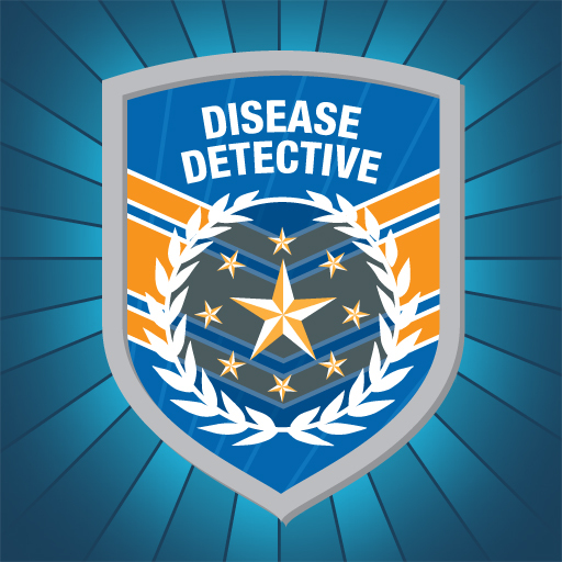 Caption: Disease Detective Badge, Credit: CDC
