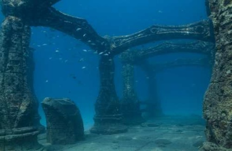 Caption: Port Royal, Jamaica. A city which succumbed to the sea after a quake and tsunami in 1692. , Credit: bohemianwords.wordpress.com via GreenBuzz.com