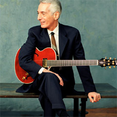 Caption: Guitarist Pat Martino survived a brain aneurysm to become one of the most soulful voices of jazz guitar.