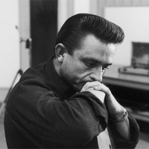 Caption: Johnny Cash