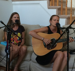Caption: The Bowmans (Claire & Sarah), Credit: Up Close And Acoustic