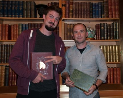 Caption: Adam Wingard & Simon Barrett, San Francisco, CA 4/28/13, Credit: Andrea Chase