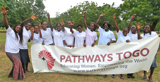 Caption: Educating Women, Empowering the World, Credit: Pathways Togo