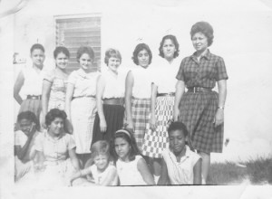Caption: Pedro Pan girls, Florida City, Fla., 1962.  , Credit: Courtesy of Ileana Ortega Menéndez.