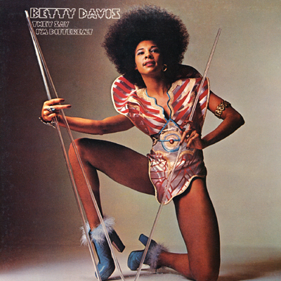 Caption: Betty Davis, former wife of Miles Davis