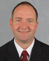 Caption: Devils Coach Peter DeBoer