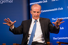 Caption: David Crane, CEO of NRG Energy, Credit: Rikki Ward