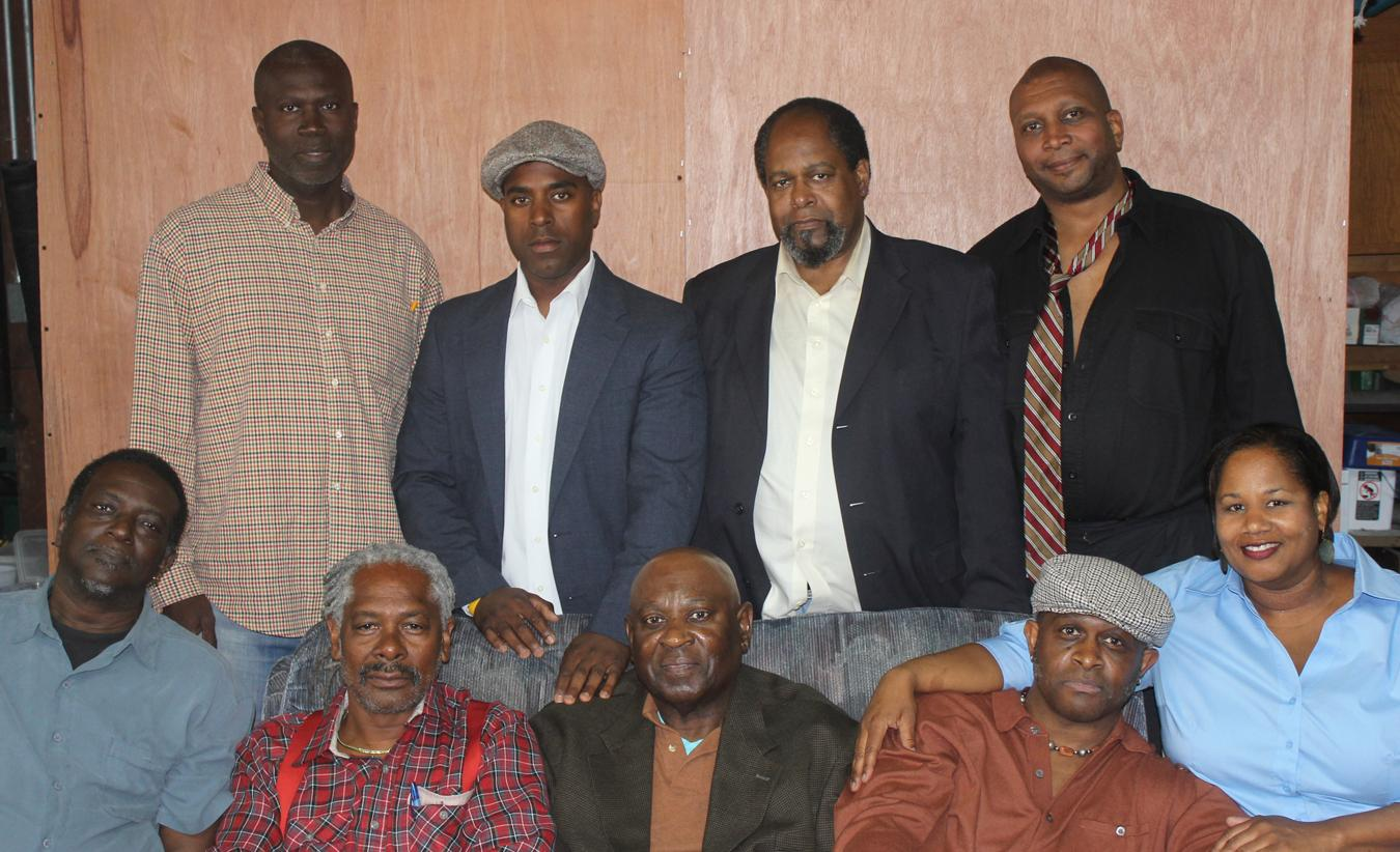 "Caption: Cast of Multi Ethnic Theater's ""Jitney"""