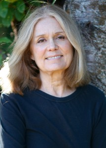 Caption: Gloria Steinem