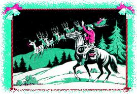 Caption: RetroRanch Christmas