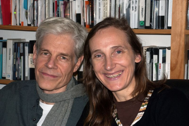 Caption: Sturgis Warner and Signe Baumane, San Francisco, CA 11/21/14, Credit: Andrea Chase