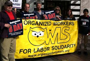 Caption: Organized Workers for Labor Solidarity