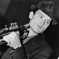 Caption: Cool jazz icon Chet Baker