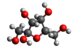 Caption: Chemical structure of fructose., Credit: (That kiwi guy/Wikipedia)