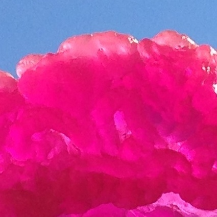 Caption: Lynda Benglis, Pink Lady, 2014, detail, Credit: Cathy Byrd
