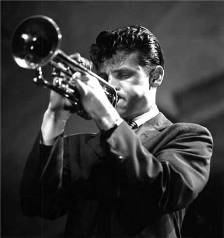 Caption: Chet Baker