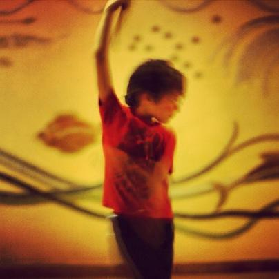 Caption: Elijah's Fan Dance, Credit: Ulla Johnson