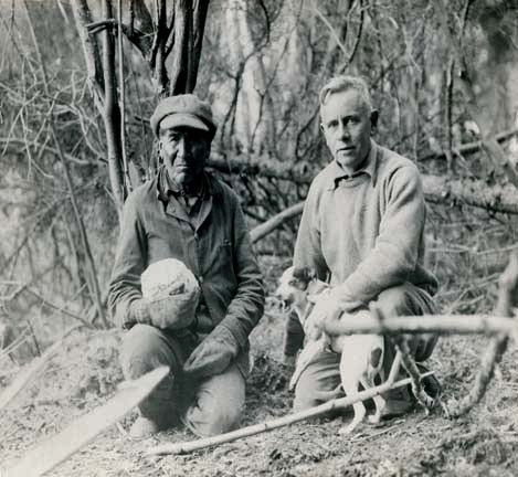 Caption: Billy Magee with Ernest Oberholtzer, Credit: National Park Service