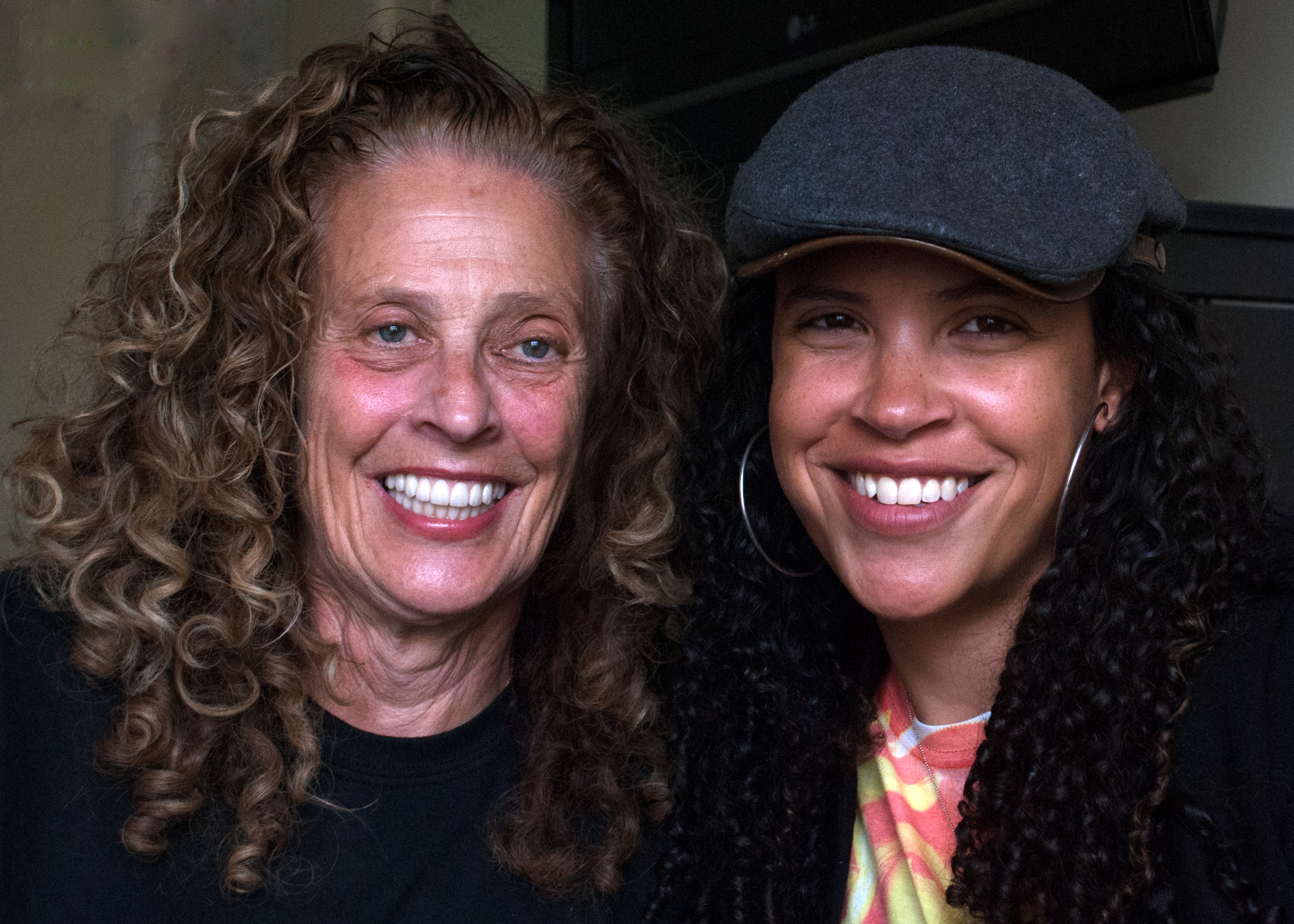 Caption: Peggy & Lacey Schwartz, San Francisco, CA  8/5/14, Credit: Andrea Chase