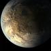 Caption: Artist's conception of exoplanet Kepler -186f., Credit: Wikipedia