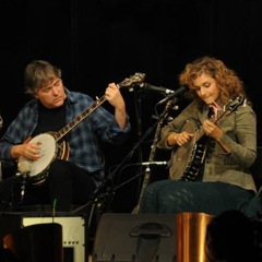 Caption: Banjo greats Bela Fleck and Abigail Washburn perform songs for their new album.