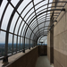 Caption: The outdoor observation deck on the Foshay Tower in Minneapolis, MN., Credit: Noel Clark