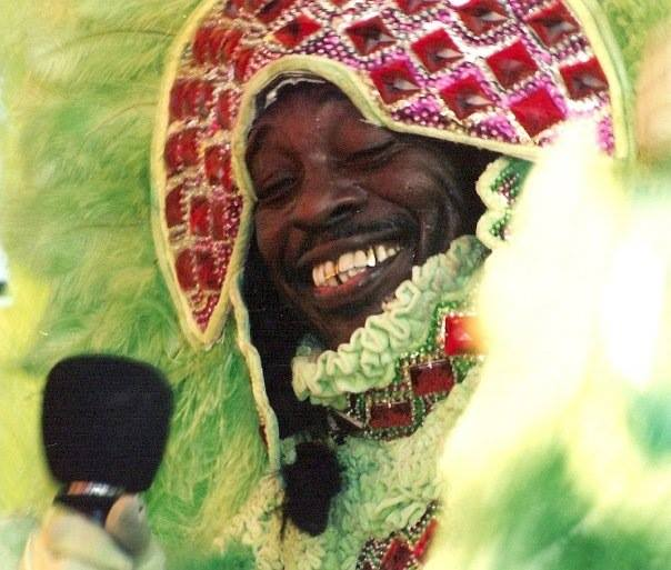 "Caption: Big Chief Theodore ""Bo"" Dollis"