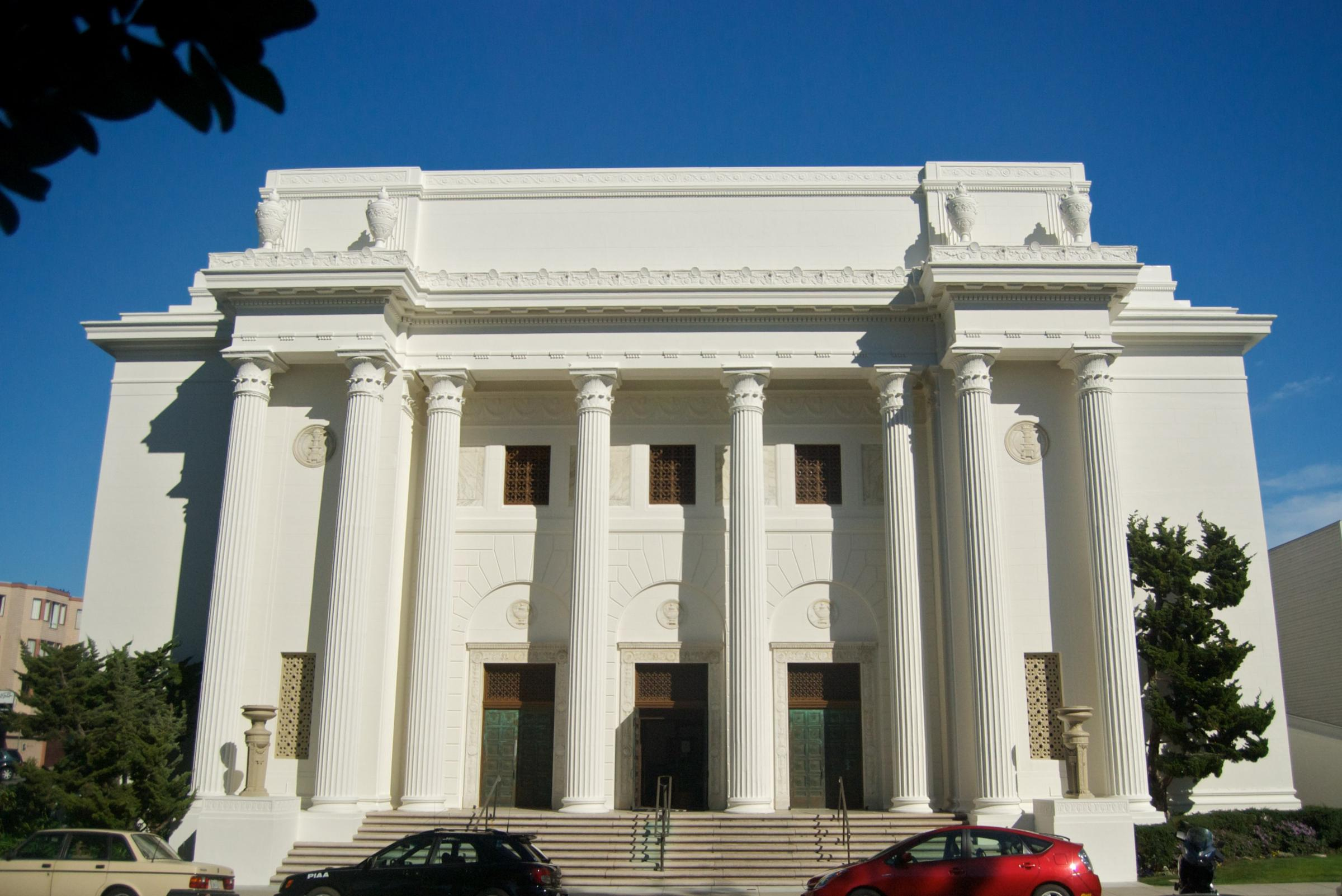Caption: The Internet Archive, San Francisco., Credit: Under CC license from Flickr user Beatrice Murch