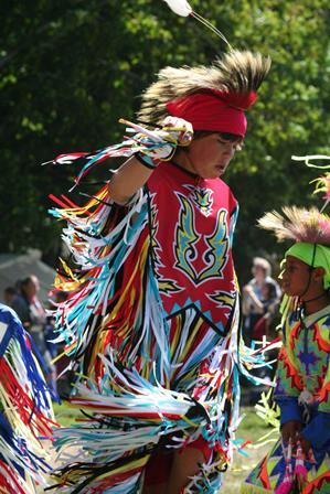 Caption: A tribal member of the Grand Traverse Band of Ottawa and Chippewa Indians., Credit: EVA PETOSKEY