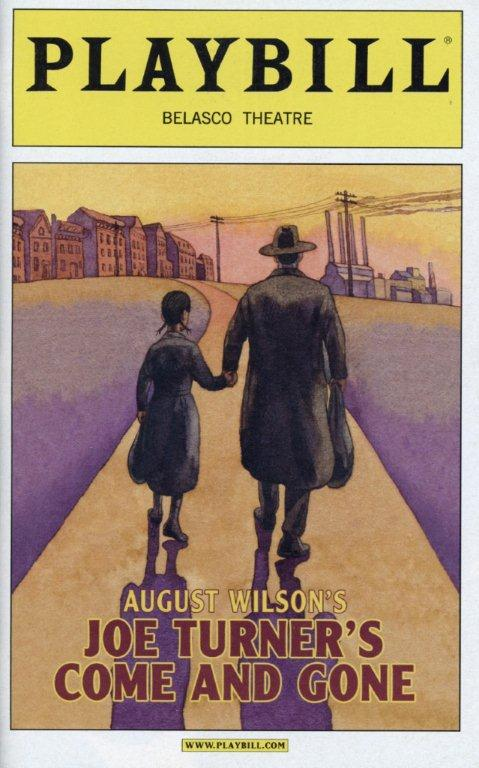 "Caption: August Wilson's ""Joe Turner's Come and Gone"" Playbill., Credit: Photofest, Inc."