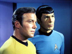 Caption: William Shatner / Leonard Nimoy
