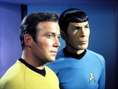 Caption: William Shatner / Leonard Nimoy