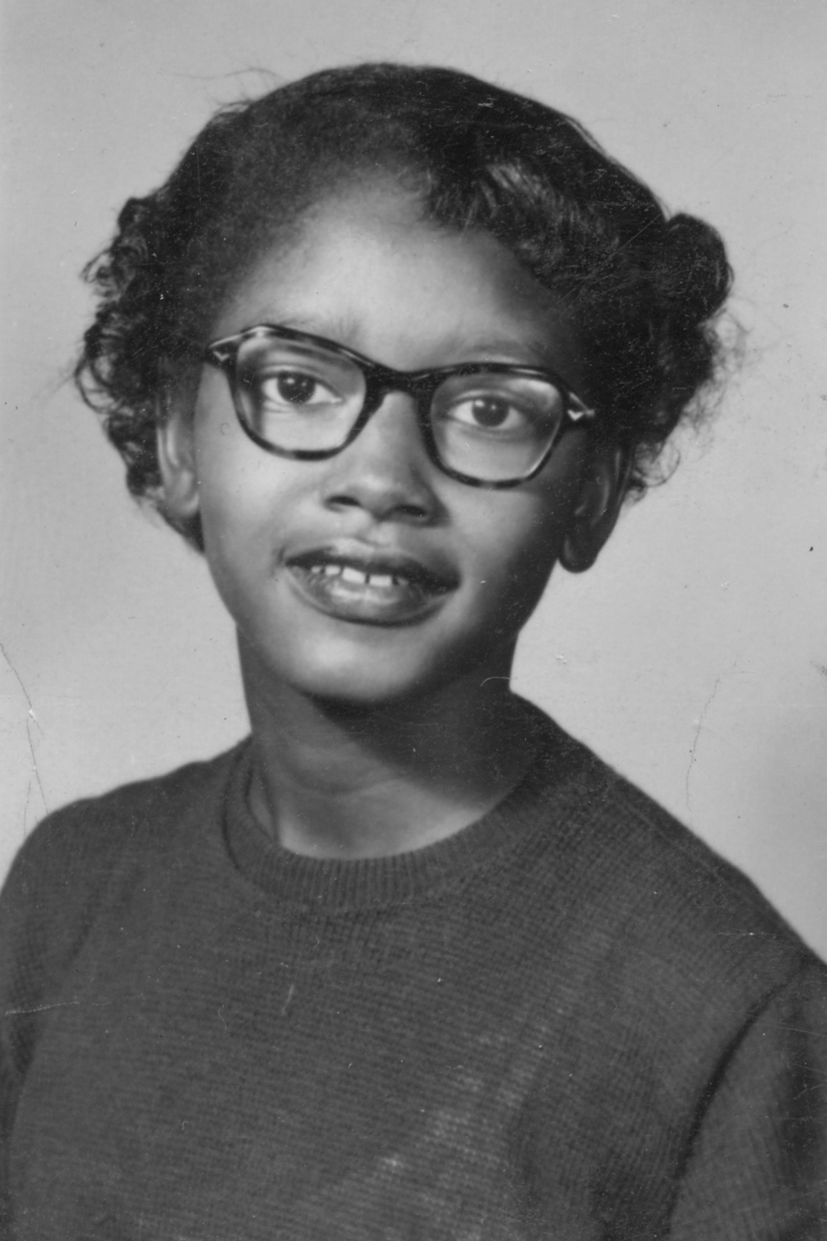 Caption: Claudette Colvin.