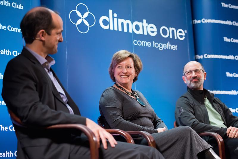 Caption: Gary Cook, Greenpeace; Lori Duvall, eBay; Bill Weihl, Facebook, Credit: Ed Ritger