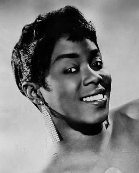 Caption: Sarah Vaughan