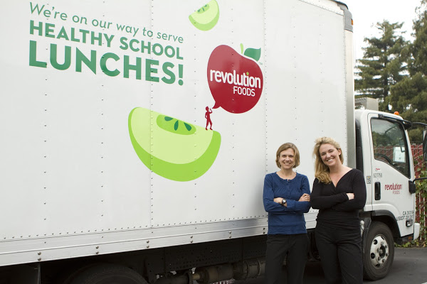 Caption: Kristin Richmond & Kirsten Tobey, Revolution Foods