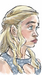 Caption: Daenerys Targaryen from Game of Thrones., Credit: Eric Molinsky