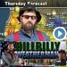 Caption: The Hillbilly Weatherman