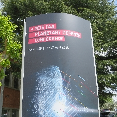 Caption: The Planetary Defense Conference in Frascati, Italy hosted Planetary Radio Live., Credit: Mat Kaplan