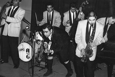 Caption: Augie Garcia Band