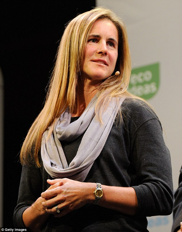 Caption: Brandi Chastain