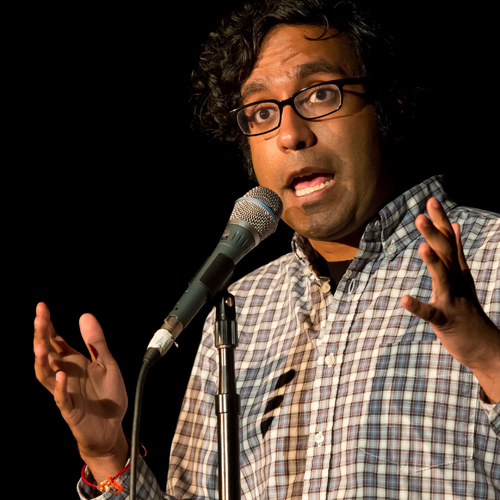 Caption: Hari Kondabolu, Credit: Chris Council and Emily Champlin, Courtesy of the Aspen Institute