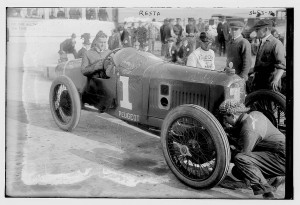 Caption: Italian-British driver Dario Resta finished a close second at the 1915 Indianapolis 500. , Credit: Library of Congress