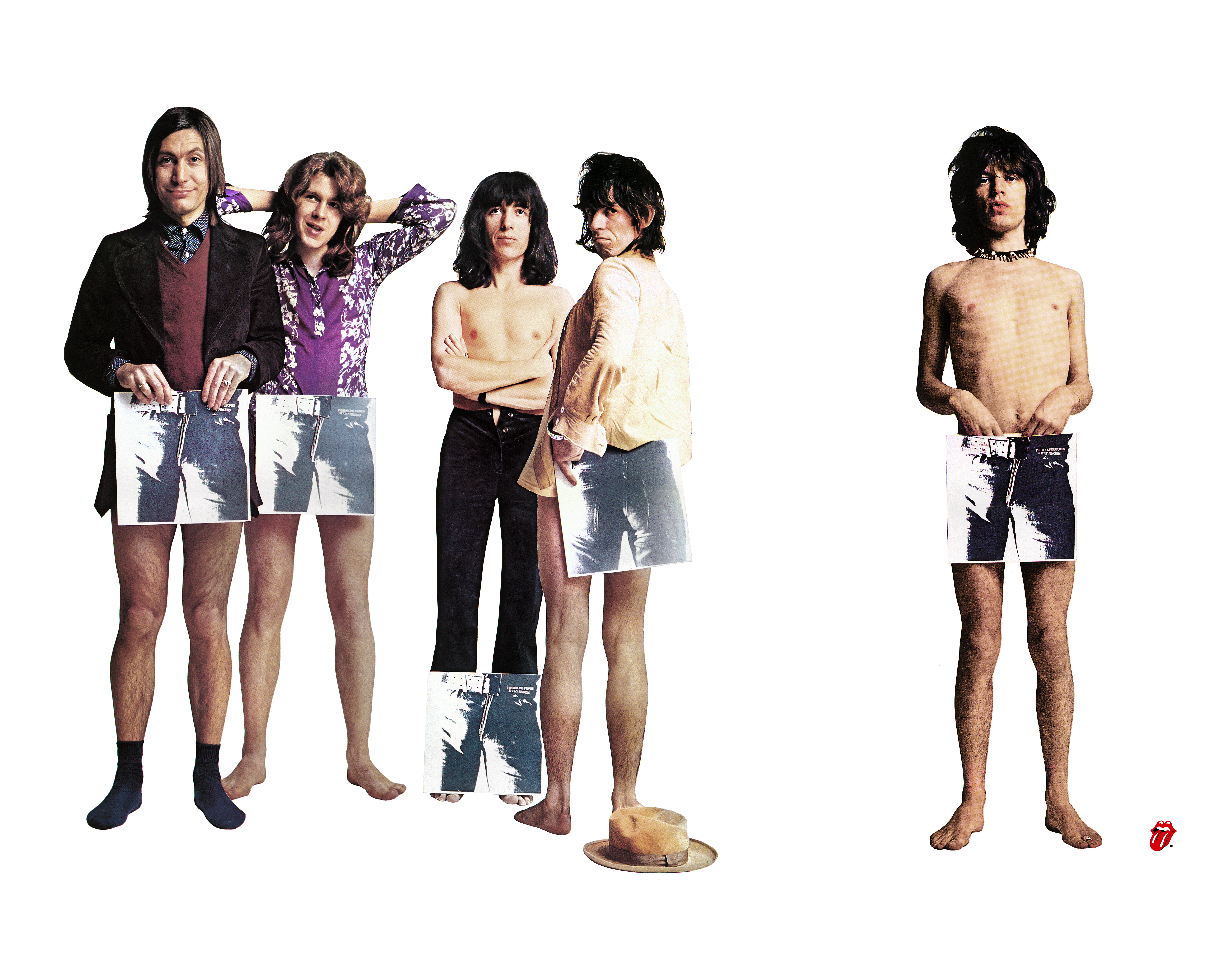 Caption: The Rolling Stones: Unzipped
