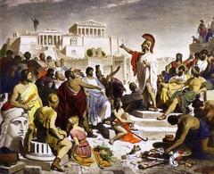 La democracia ateniense en acción