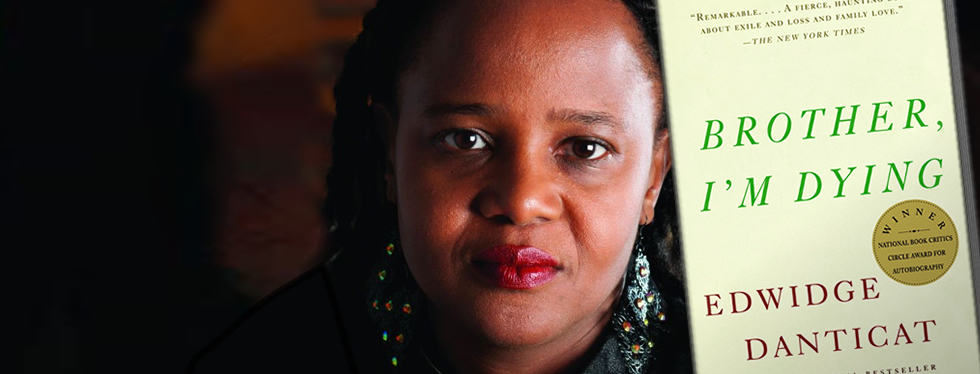Caption: Edwidge Danticat, Credit: Jonathan Demme