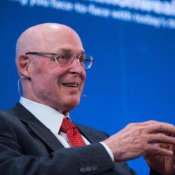 Caption: Henry Paulson,  Former U.S. Secretary of the Treasury, Credit: Ed Ritger