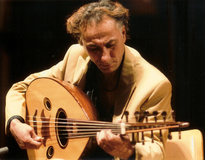 Caption: Rahim AlHaj, Credit: Dan Merlo
